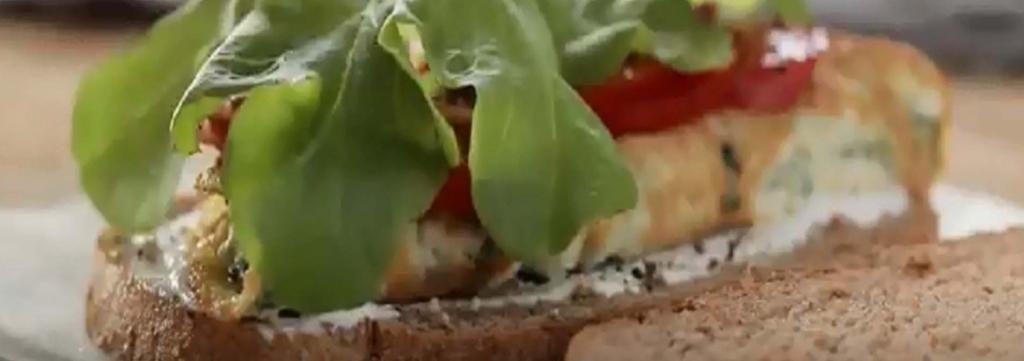 סנדוויץ חביתת ירק