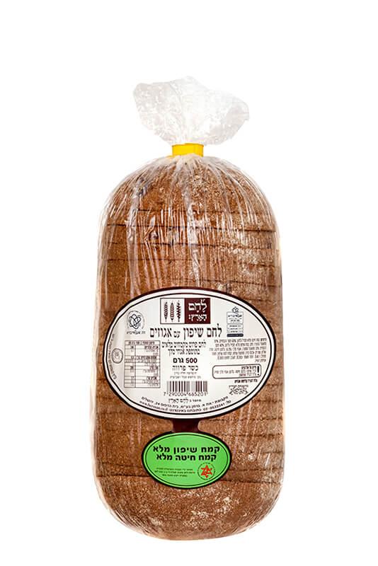 תמונת מוצר של לחם שיפון עם אגוזים