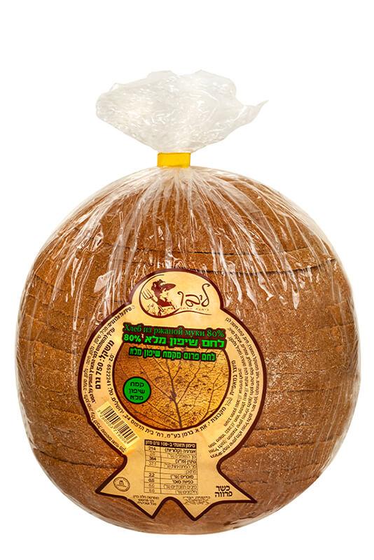 תמונת מוצר של לחם שיפון מלא 80%