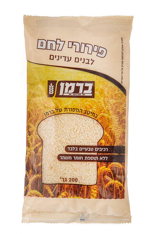 תמונת מוצר של פירורי לחם לבנים עדינים