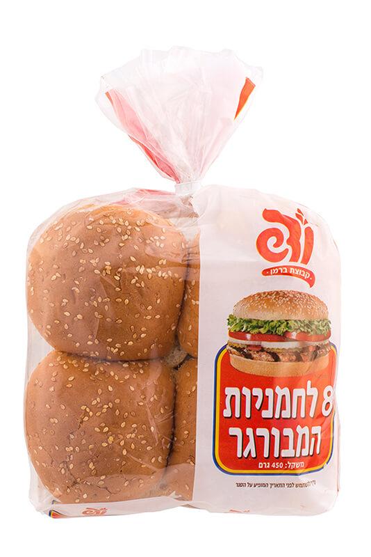 תמונת מוצר של 8 לחמניות המבורגר (ודש)
